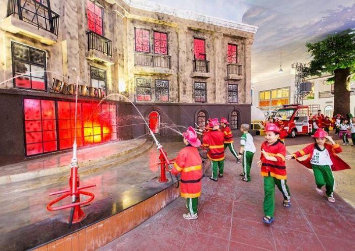 Mô hình khu vui chơi hướng nghiệp ngành cứu hỏa
