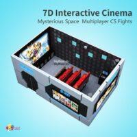 Phòng chiếu phim cảm ứng 7D interactive Cinema
