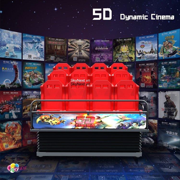 RẠP CHIẾU PHIM 5D-7D VR