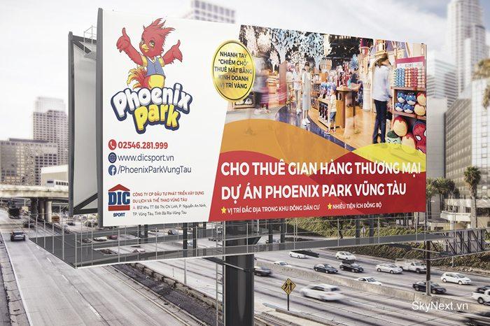 DIC Phoenix Park Vũng Tàu quảng cáo ngoài trời