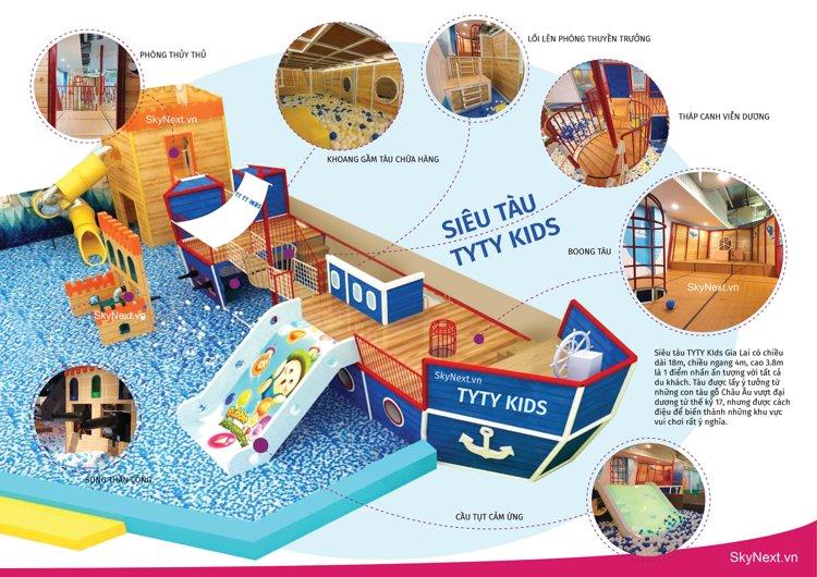 Mô hình tàu biển trong khu vui chơi