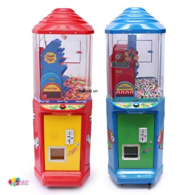 Máy game gắp kẹo trong siêu thị