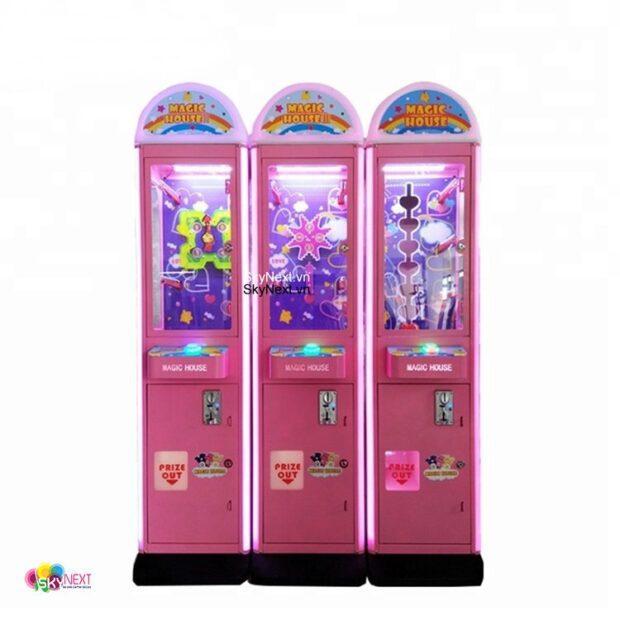 Máy game thùng trong siêu thị các loại