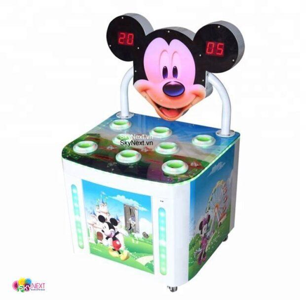 Máy game siêu thị Đập Thú chuột Mickey