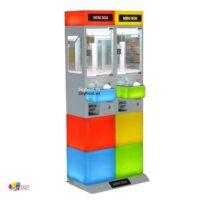 Máy gắp kẹo mini đa màu sắc